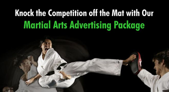 Martial Arts Advertising