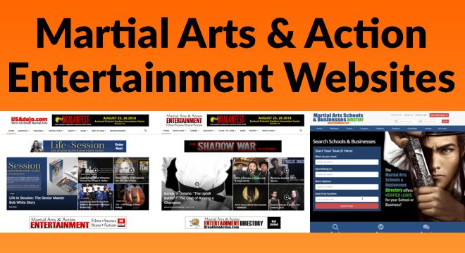 Martial Arts & Action Entertainment Websites