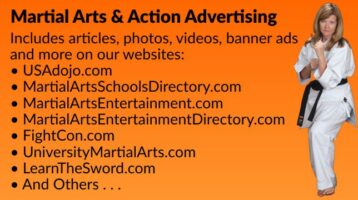 Martial Arts & Action Advertising